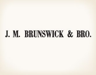 Brunswick Corporation - Image: Logo of JM Brunswick & Bro in 1855