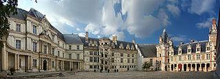 residence in Blois, France