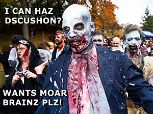 Zombie for exciting wp discussions