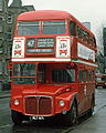 London Transport Routemaster bus RM871 (WLT 871) April 1976 route 47 Bermondsey.jpg