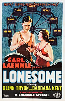 Description de l'image Lonesome film poster.jpg.