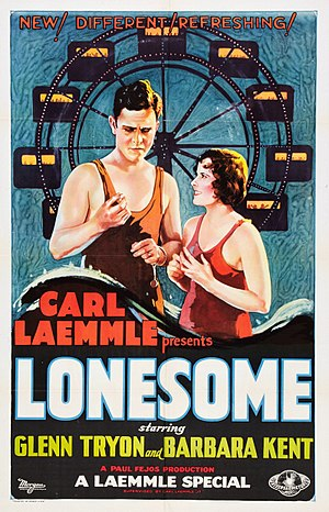Lonesome - Theatrical release poster