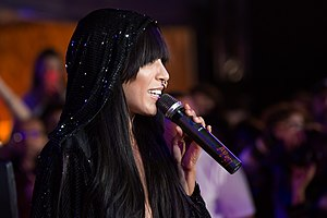 Loreen (singer) - Loreen performing at the 2015 Life Ball in Vienna, Austria.