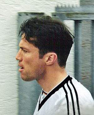 Lothar Matthäus - Lothar Matthäus has won more Germany caps than anyone else, 150, and went to nine major international tournaments, captaining the 1990 World Cup-winning team.