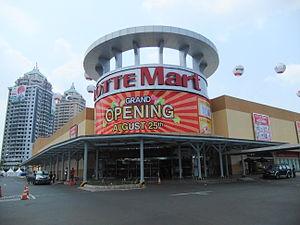 Lotte Mart - A Lotte Mart in Kelapa Gading, Indonesia.