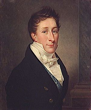 Louis Charles, Count of Beaujolais - Portrait by Charles-François Phelippes. c.1838, Palace of Versailles