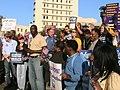Louisiana - Health Care Rally, Lee Circle, October 20, 2009 02.jpg