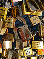 Love padlocks Pont des Arts 2012-10-13 n03.jpg