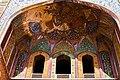 Low angle view Wazir Khan Mosque Art.jpg