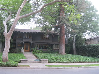 Lower Arroyo Seco Historic District - A home in the district