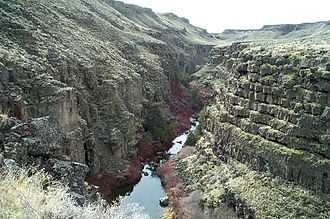 Salmon Falls Creek - Salmon Falls Creek Canyon in Idaho
