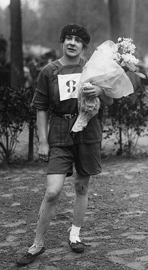 Lucie Bréard - Bréard in 1921