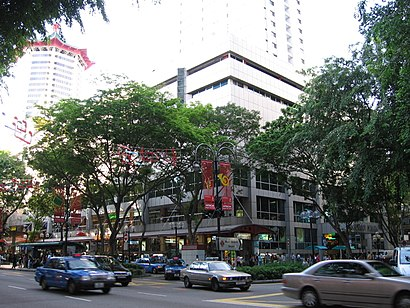 How to get to Lucky Plaza with public transport- About the place