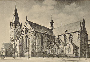 Prince-Bishopric of Paderborn - Paderborn Cathedral around 1891