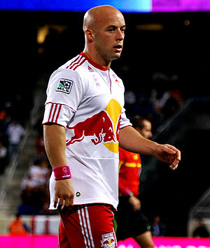 Luke Rodgers - Rodgers playing for the New York Red Bulls in October 2011