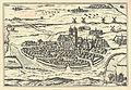 Lund cirka 1588 (Frans Hogenbergs kopparstick ur Civitates orbis terrarum).jpg