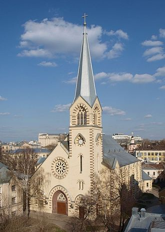 Evangelical Lutheran Church in Russia, Ukraine, Kazakhstan and Central Asia - Image: Lutheran St. Peter and Paul Cathedral Moscow
