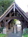Lych Gate, St Mary Magdalene Church, Bolney - geograph.org.uk - 1018008.jpg
