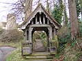 Lych gate to St.Mary's Church, Playford - geograph.org.uk - 1132346.jpg