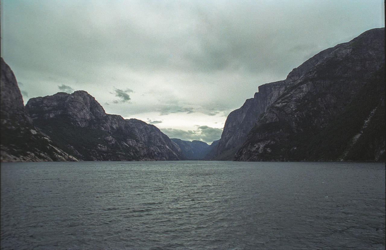 Norwegia -Lysefjord