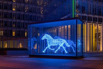 Münster, LVM, Skulptur -Zwei Pferde- -- 2016 -- 5969-75