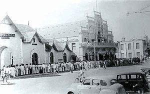 M G Road, Bangalore - M.G. Road in 1950.