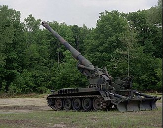 """3rd Missile Brigade """"Aquileia"""" - 27th Heavy Artillery Group Marche M110A2 203mm howitzer"""
