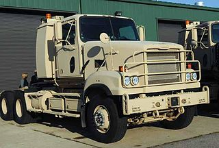M915 (truck) Tractor unit used for line haul missions by the US Army