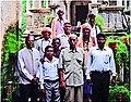 MAS-ICITP-Bnil-leaders-with-Maharana Mahendra Singh Mewar-at-latters-Shakti-temple-2016.jpg