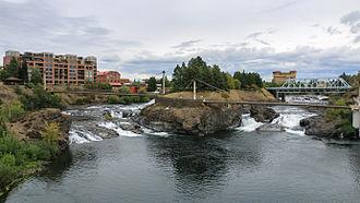 Spokane Falls - Upper Spokane Falls, 2013
