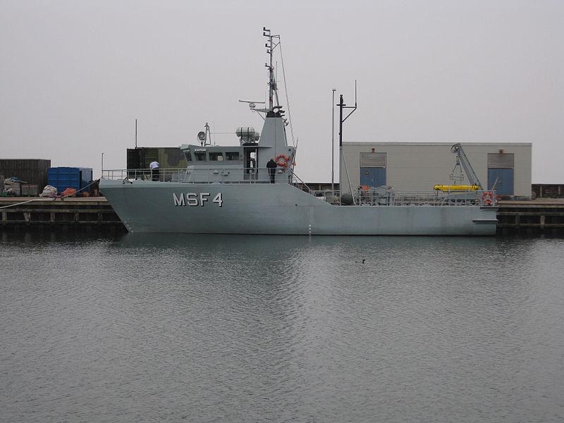MSF4 ved Flådestation Korsør.