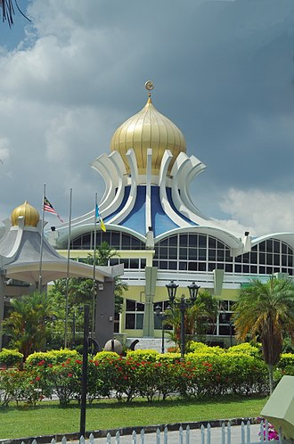 Religion in Malaysia - Penang State Mosque in George Town, Penang.