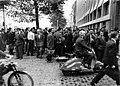 Maastricht, Boschstraat , staking Sphinx, 1961.jpg