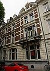 foto van Eclectisch herenhuis, gebouwd in opdracht van A. Reijnen. Naderhand heeft het pand dienst gedaan als hotel (Hotel Wilhelmina).