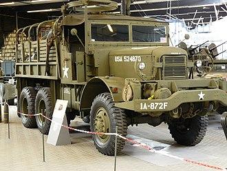 Mack NO 7½-ton 6x6 truck - Mack NO-6 truck; Overloon War Museum, Netherlands