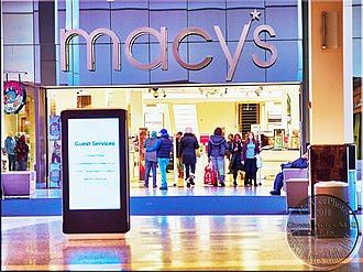Green Acres Mall - Mall entrance to Macys, Green Acres Mall, Valley Stream NY