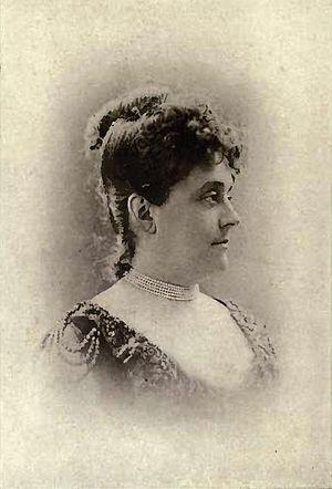 Joseph-Rosaire Thibaudeau - Madame Marguerite Thibaudeau by William James Topley