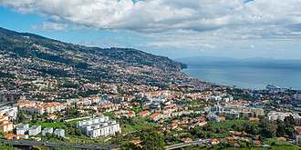 Madeira - A January 2014 view of Funchal, the capital city of the autonomous region.