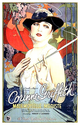 Mademoiselle Modiste (film) - Film poster