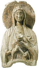 stucchi carolingi del museo di Santa Giulia