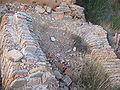 Maella - Priorato Santa Susana - Restos de arco caido.jpg