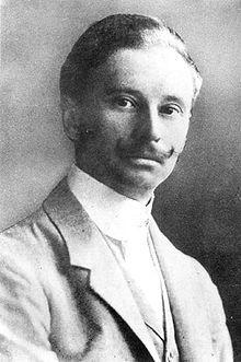 Magyar Ede arcképe