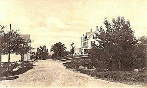 Lovell, Maine - Main Street in 1907