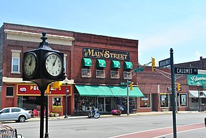 Commercial area - Main Street in Chesterton, Indiana