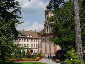 Mainau - The palace gardens at Mainau were mainly created by Lennart Bernadotte