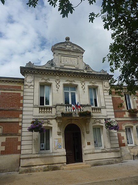 City hall of Hourtin, Gironde, France