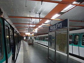 Image illustrative de l'article Mairie d'Ivry (métro de Paris)