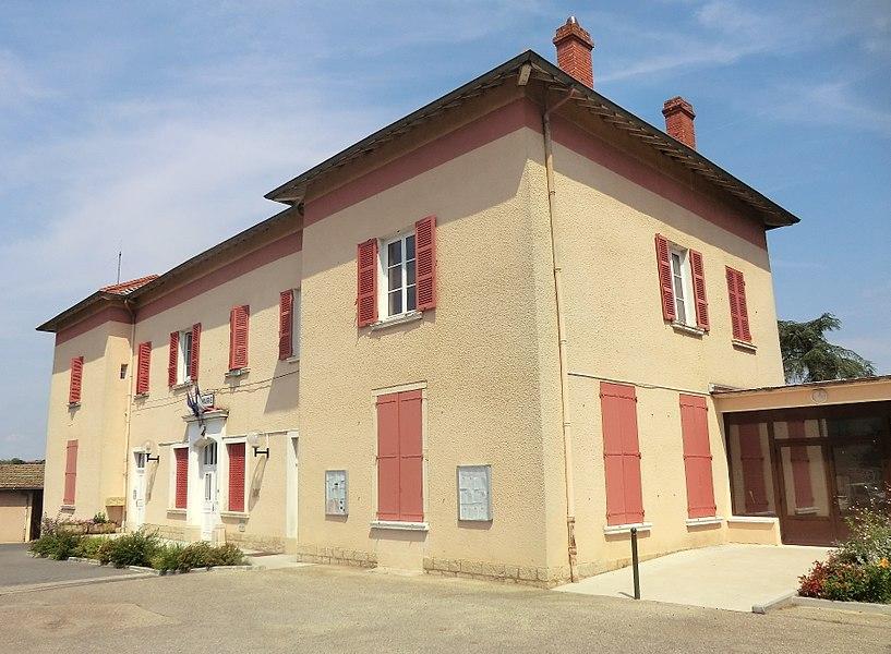 Mairie de Saint-Didier-de-Formans.