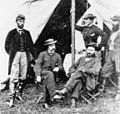 Major Allan Pinkerton (right, seated) with his officers.jpg