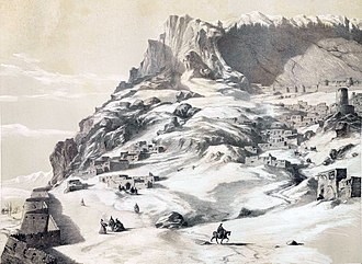Caucasus Campaign (1735) - Maku border city of Armenia